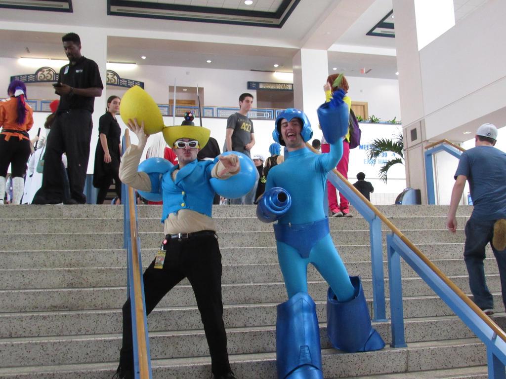 Metrcon 2015 Megaman and Bobobo by KidDiamond