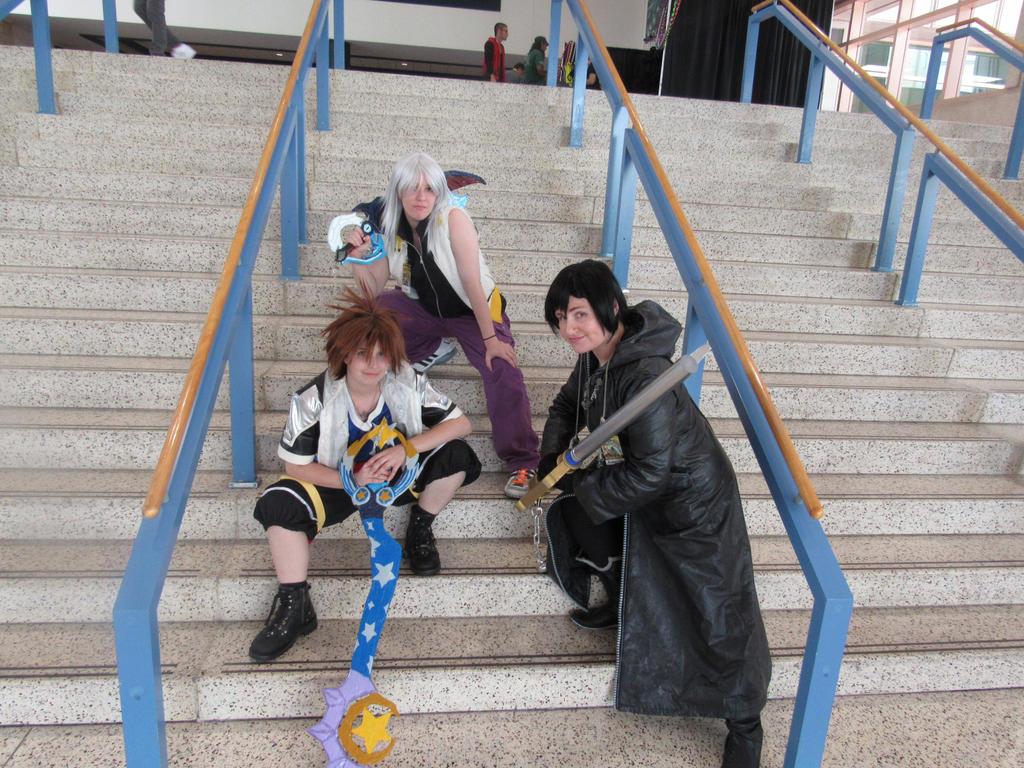 Metrocon 2015 Kingdom Hearts by KidDiamond
