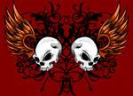 Colored Skull Design