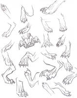 Back Paws Reference Dump by That-One-Midget