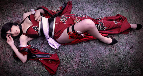 Red butterfly. by Shermie-Cosplay