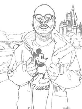 Loni Portrait Sketch