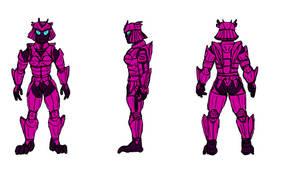 Mela's Fugu Armor, Mark II by WyreCats