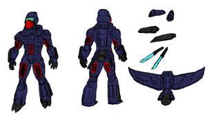 Petrel Armor Mark 2 (Wyrecats by WyreCats