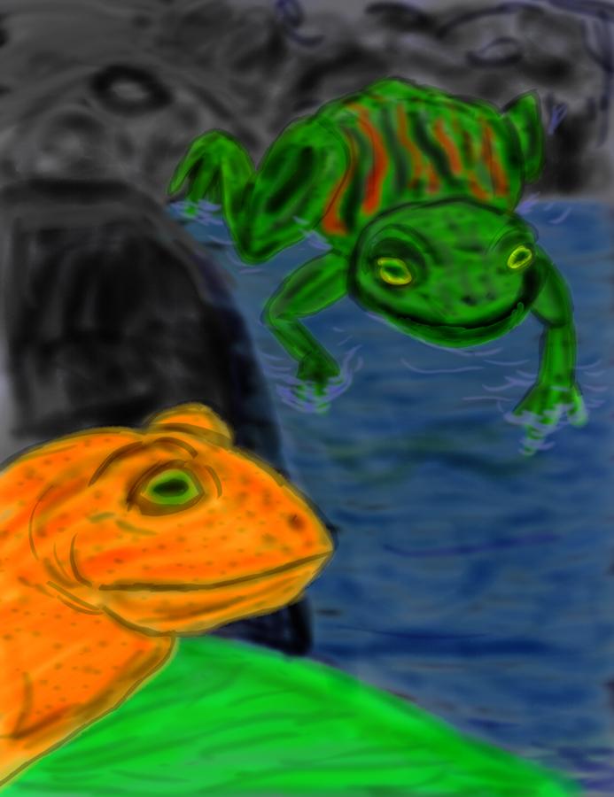 Golden Toad: Extinction Memorial #3 by WyreCats