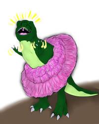 Tyrannosaurus Rex in Tutu
