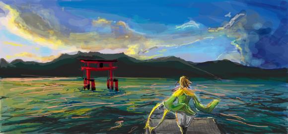 Miyajima - Sengoku Basara by scarlet-visions