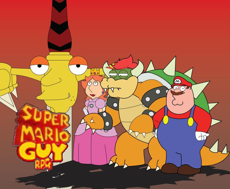 Mario Family Guy Super Mario Guy RPG by