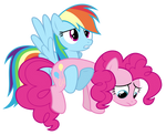 I found a frowny face Pinkie