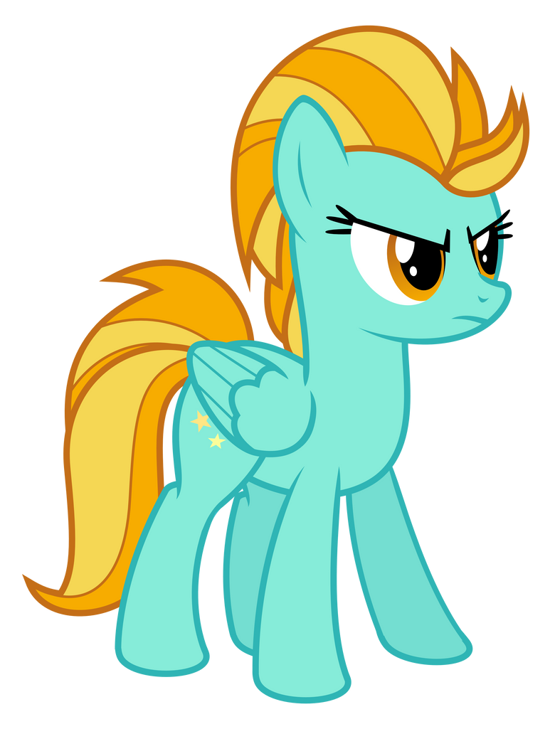 My Little Pony Lightning Dust Coloring Pages : Lightning dust by hankofficer on deviantart