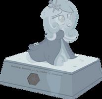 Snowdrop memorial statue by Puetsua