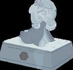 Snowdrop memorial statue