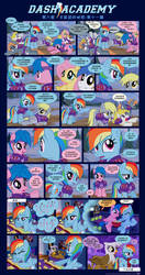Chinese: Dash Academy 6 - The Secrets We Keep p11 by Puetsua