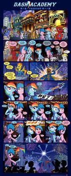 Chinese: Dash Academy 6 - The Secrets We Keep p16 by Puetsua