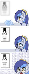 Eye test by Puetsua