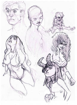 More Weekend Sketches