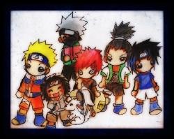 Chibi Naruto Group by TaSaMaBi