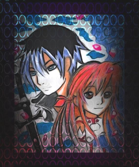 Kirito und Asuna by TaSaMaBi