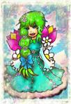 Flower Halfbody by TaSaMaBi