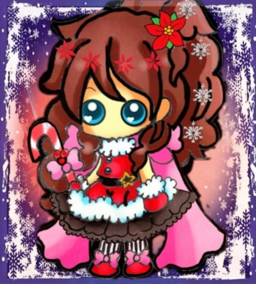 Charmy my new OC wish your Merry Christmas XD by TaSaMaBi