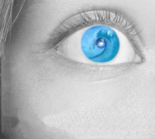 Tom Dele Bashiru Wallpaper: Deep Blue Eyes Girl By