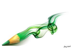 Fuming pencil by Kodoku-J