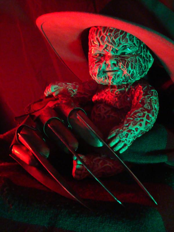 Baby Freddy Krueger by scarehuman