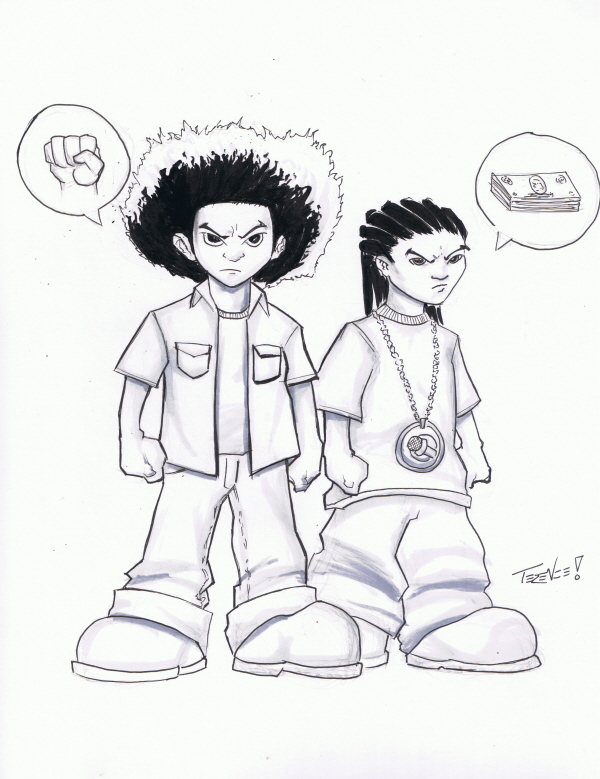 huey and riley by teeminus