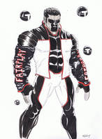 Mr. Terrific, Round 2 by TeeMinus