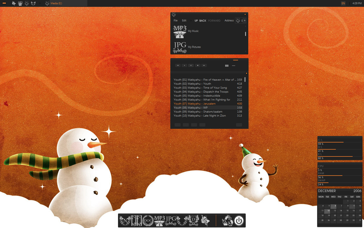 Miry Christmas by AlbinoAsian