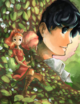 Arrietty and Sho