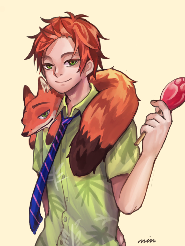 Human Nick Zootopia by poringrenger
