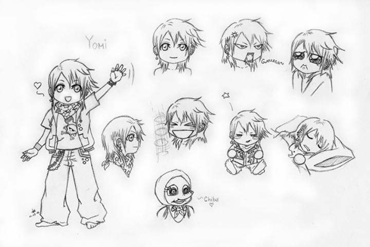 chibi yomi character sheet by jomojo on deviantart