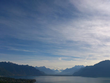 Montreux and the Lake