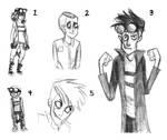 Supernaturalist Doodles.