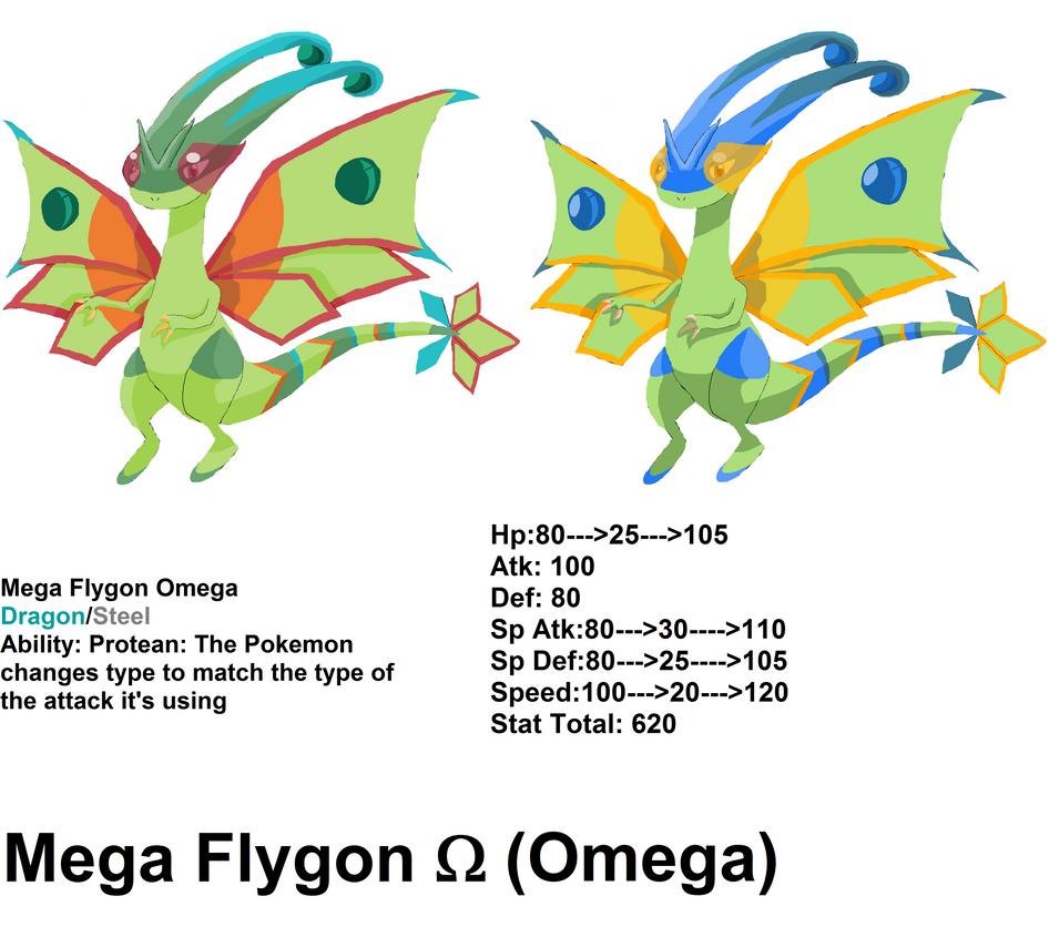 Mega Flygon Omega by NexusPieXIII on DeviantArt