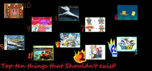 Top Ten things that shouldn't exist by NexusPieXIII