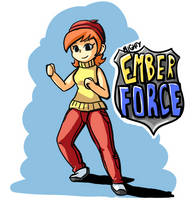 Mighty Ember Force! by ManMadeOfGold
