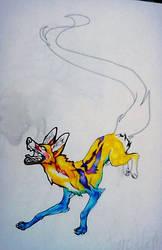olden jackal thing by sabarika