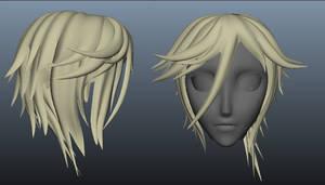 The art of Hio hair~~
