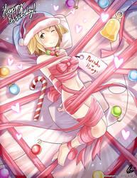 Happy Birthday Natsuko-Hiragi 2/2 by Aster-Effect