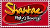 Shantae Risky's Revenge Stamp by FireMaster92