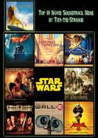 My Top 10 Favorite Soundtracks by FireMaster92