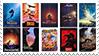 Disney Renassance Stamp by FireMaster92