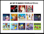 Top 13 Favorite Childhood Shows