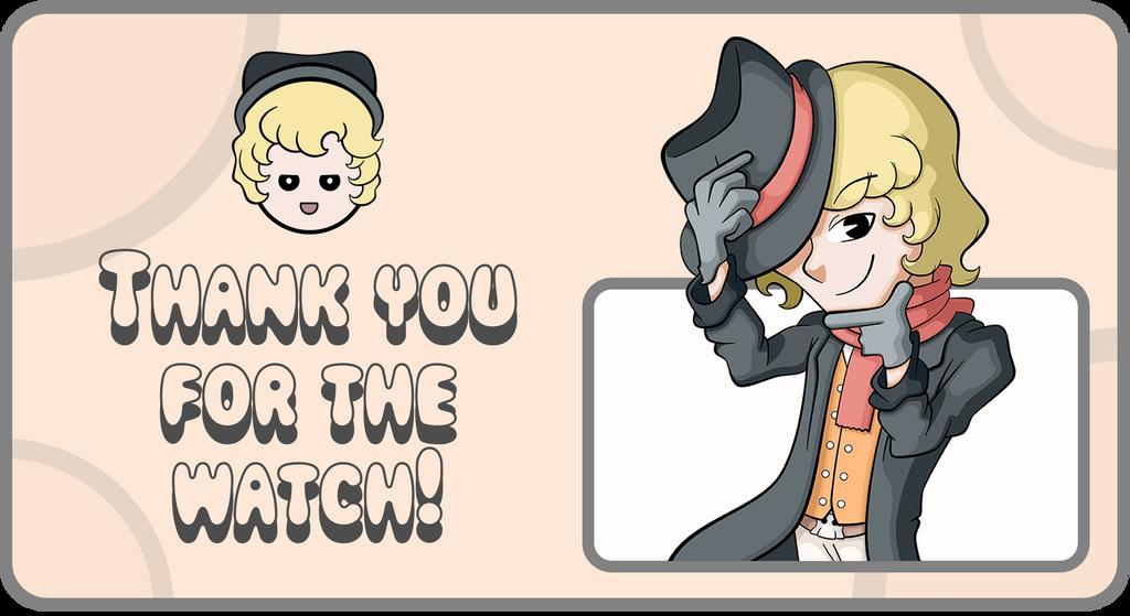 [Gift] Thanking note (watchers)