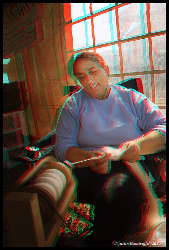 Spindle - 3D Anaglyph