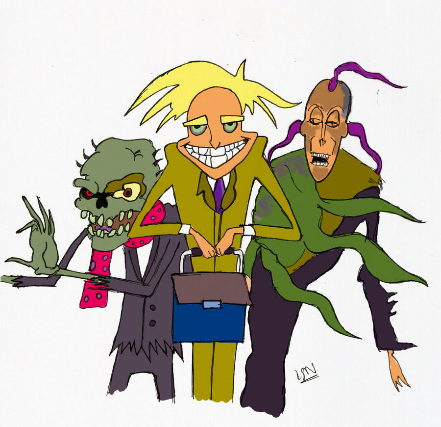 Opinions on List of Courage the Cowardly Dog characters