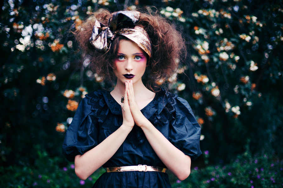 she speaks in velvets. by CaitlinWorthington