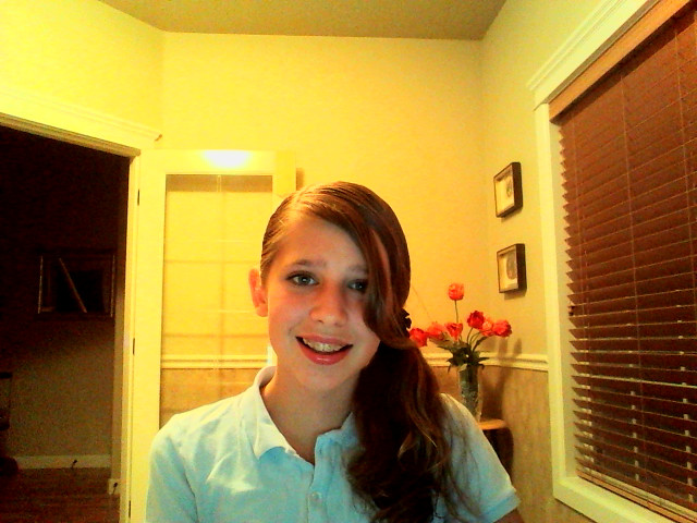 First Day of School Outfit/Hair/Makeup!!! :D by ILOVETHEWITCHSHOUSE